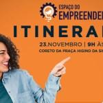Espaço do Empreendedor Itinerante na Feirinha neste sábado, 23