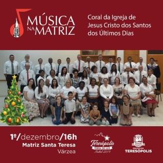 Edições especiais do 'Cultura de Raiz' e do 'Música na Matriz' abrem a programação de Natal em Teresópolis