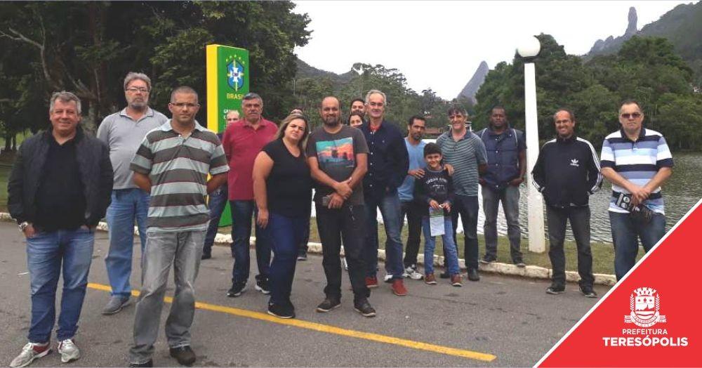 Taxistas têm curso para conhecer melhor a história dos atrativos e receber visitantes em Teresópolis