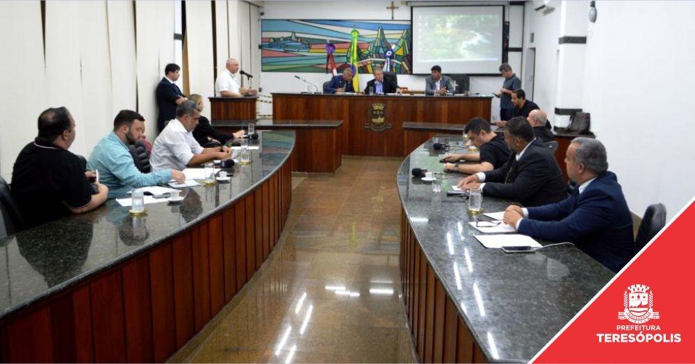 'Integra Terê': Sistema de integração do transporte público é apresentado na Câmara de Vereadores