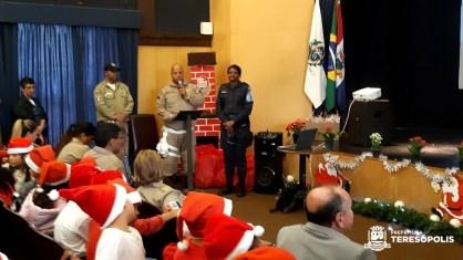 Atividades culturais e Auto de Natal encerram ações de 2019 da Ronda Escolar de Teresópolis