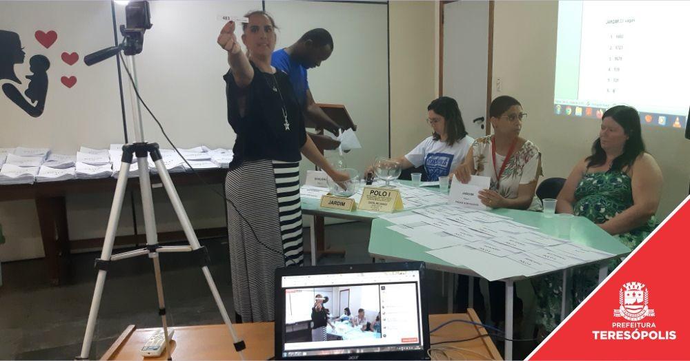 Secretaria Municipal de Educação sorteia 502 vagas para creches municipais