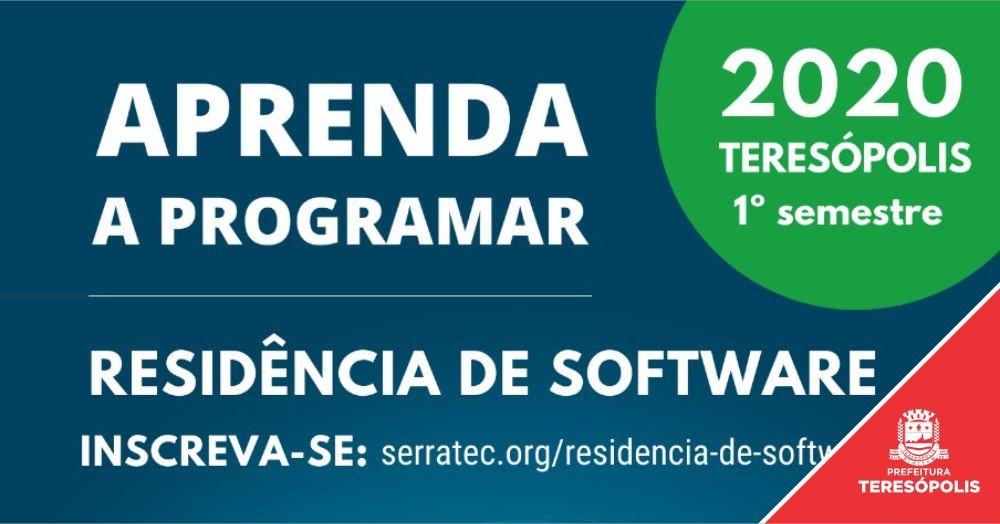 Serratec e Prefeitura de Teresópolis lançam programa de residência de software