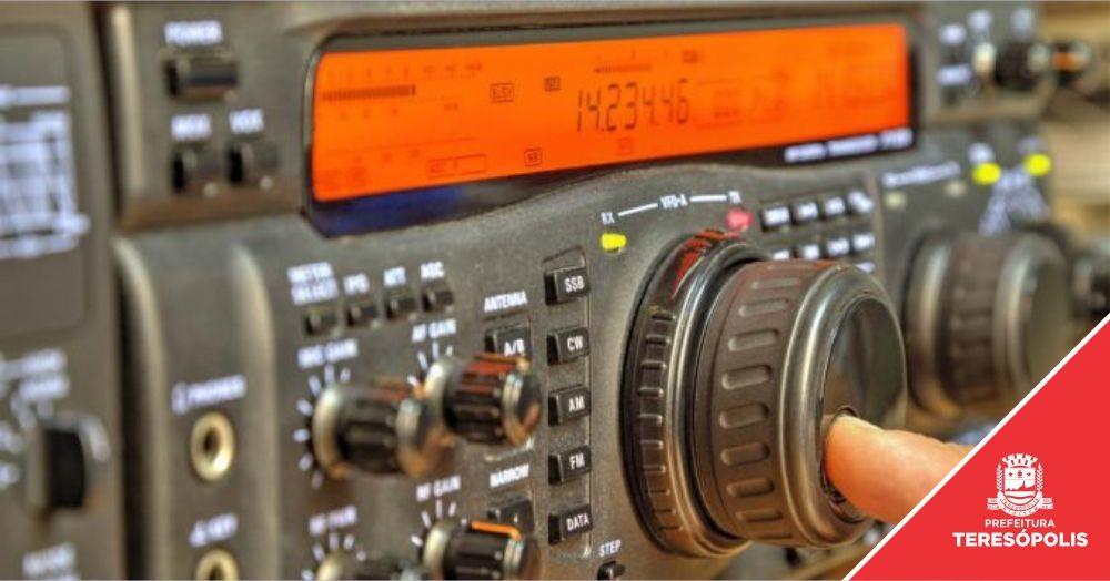 A pedido da Prefeitura, Anatel vai aplicar prova dia 30, no município, para habilitar radioamadores