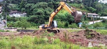 Programa 'Limpa Rio' em ação, na Posse