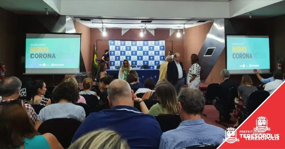 Teresópolis participa de Workshop sobre coronavírus no Rio de Janeiro