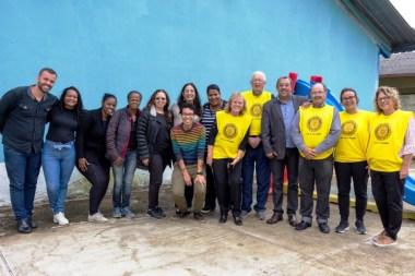 Projeto 'Água Pura' 54 famílias atendidas pelo CRAS Meudon recebem filtros e velas