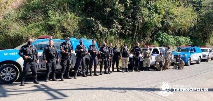 1ª Companhia de Operações com Cães da GCM atua em conjunto com a Polícia Militar