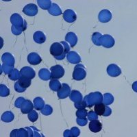 Blue Balloons: A Dream of Hope and Faith