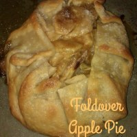 Foldover Apple Pie