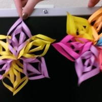 Mini 3d Paper Snowflake How To