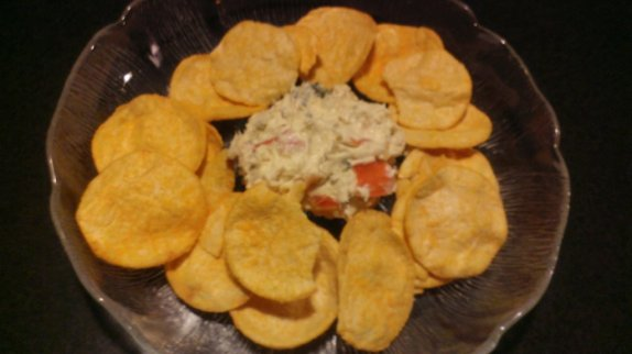 super easy vegetable dip recipe