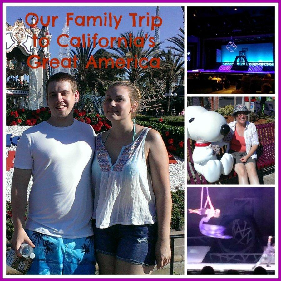 family trip to California Great America
