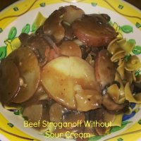 Beef Stroganoff Without Sour Cream Recipe