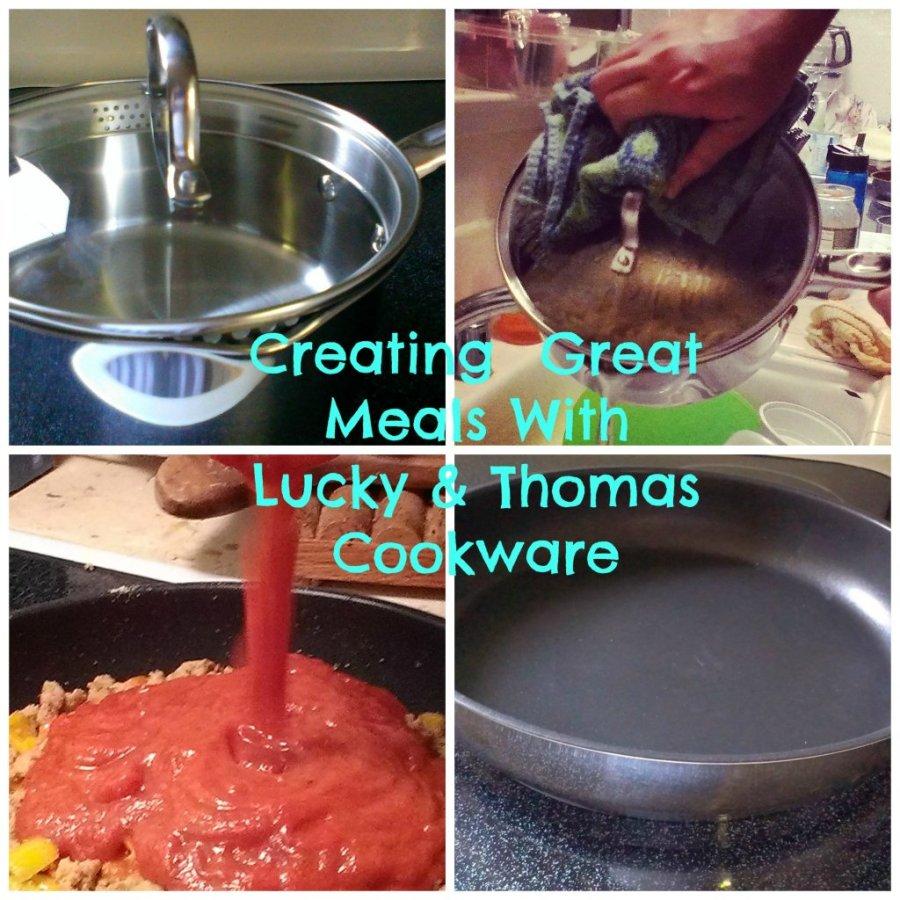 meals Lucky Thomas Cookware