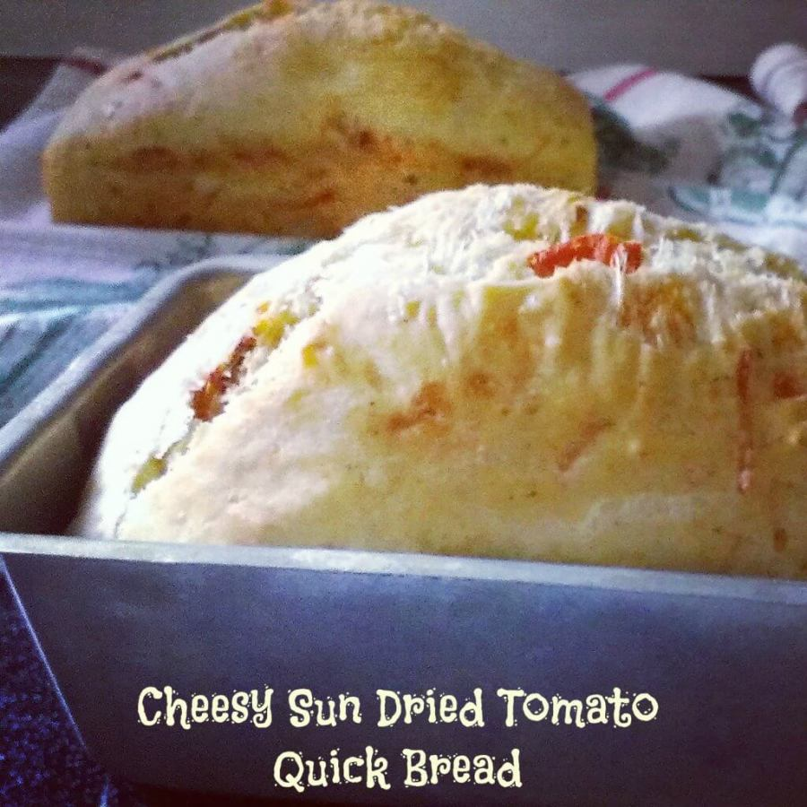 cheesy sun dried tomato bread recipe