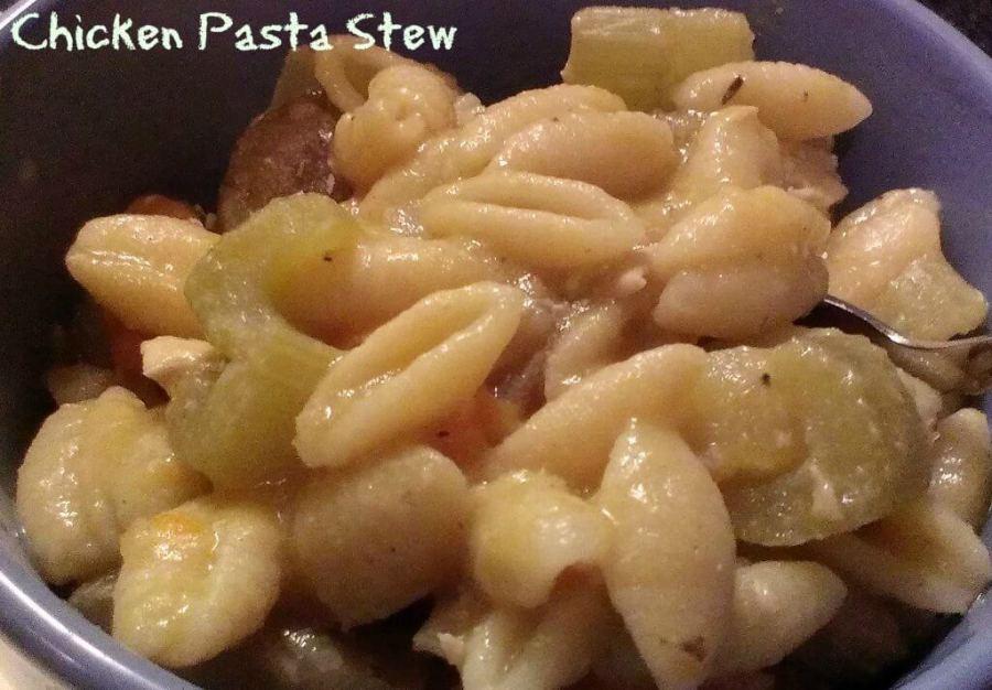 chicken pasta stew recipe