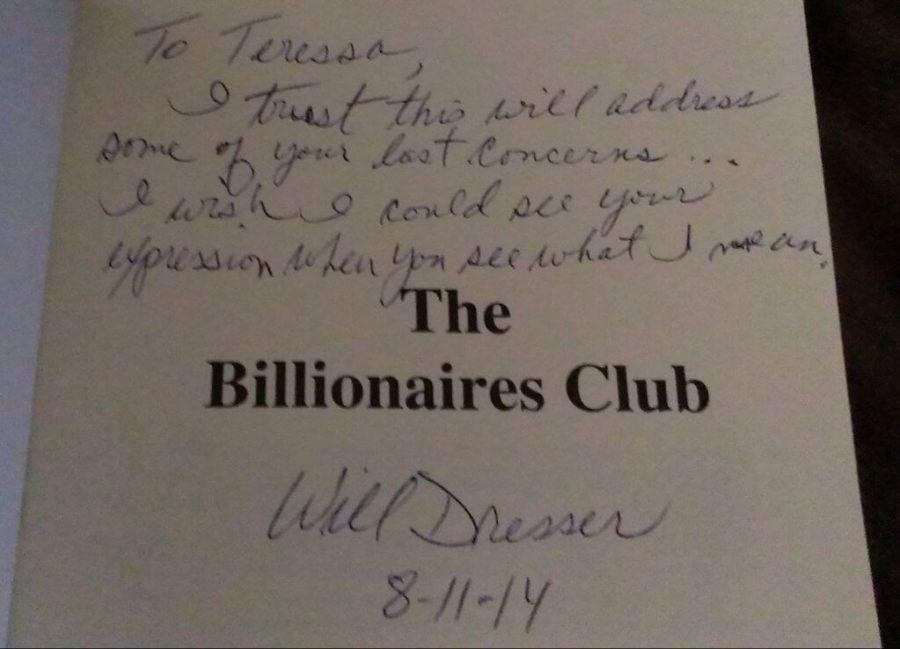billionaires club book review