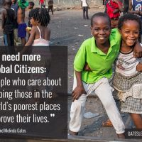 Gates Foundation Annual Letter 2015 - Are You a Global Citizen?