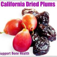 California Dried Plums Help Support Bone Health #CADriedPlums #ad