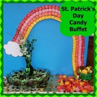 St. Patrick's Day Candy Buffet