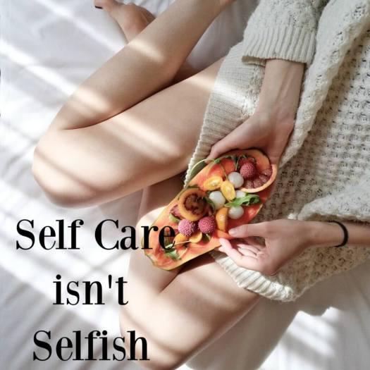 self care selfish