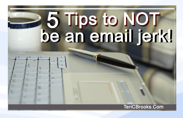 Email etiquette rules in the workplace