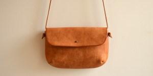 シンプルでコンパクトなバッグ