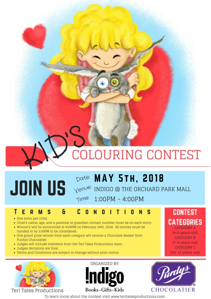 Colouring Contest Rules