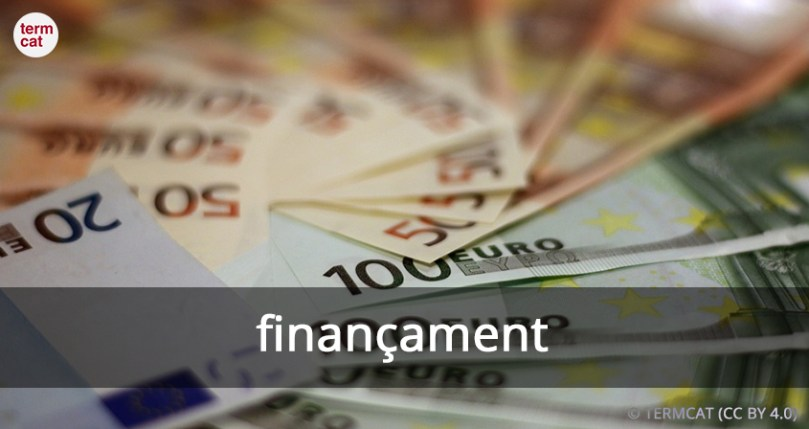 finançament