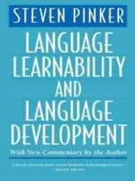 Language Learnability and Language Development