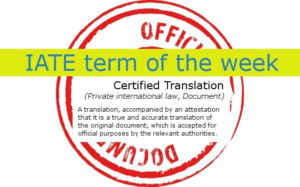 IATECertified Translation