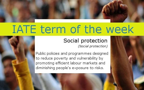Social protection IATE