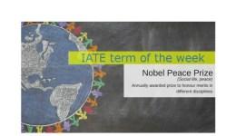 IATE Term of the Week: Nobel Peace Prize