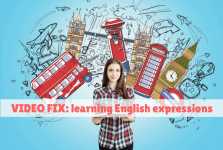 Video Fix: English expressions!