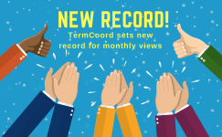 TermCoord reaches record number of views for second consecutive month
