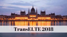 TransELTE 2018