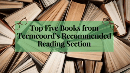 Top Five Books from Termcoord's Recommended Reading Section
