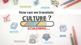 How can we translate culture?