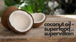 IATE Term of the Week: Coconut Oil