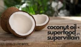 IATE Term of the Week: Coconut Oil