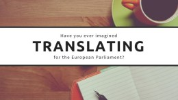 EU Institutions - New opportunities for translators