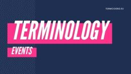 Check out all the terminology events!