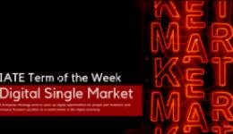 IATE Term of the Week: Digital Single Market