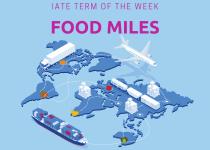 IATE Term of the Week: Food Miles