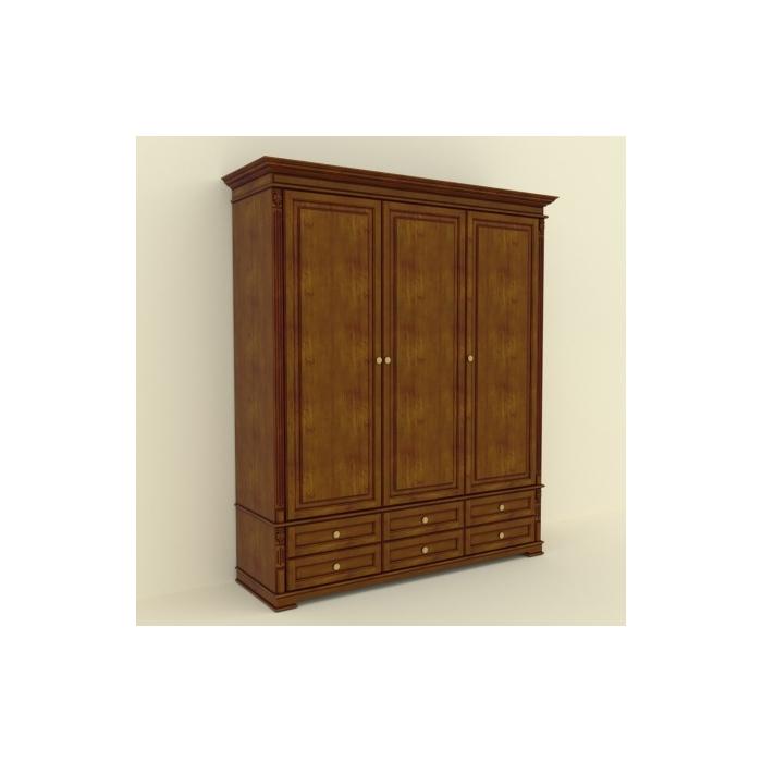 Шкаф 3-х дверный А-6 1800 (37)