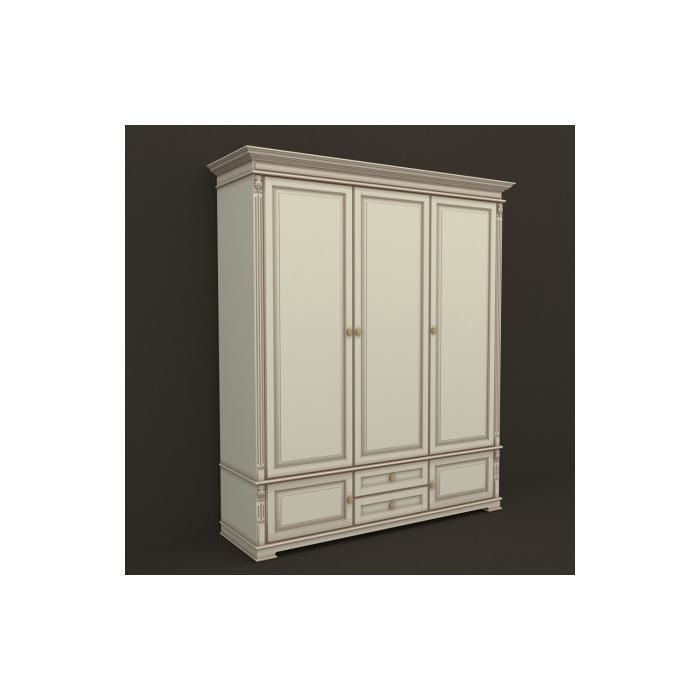 Шкаф 3-х дверный А-6 1805М (40)