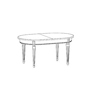 Классические обеденные столы