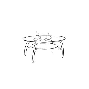 Столы кофейные