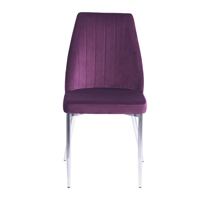 OKC-1041 велюр фиолетовый 1